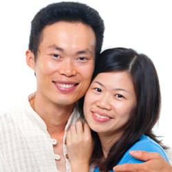 Chinese man and woman