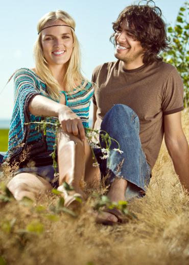 Hippie-Dating online