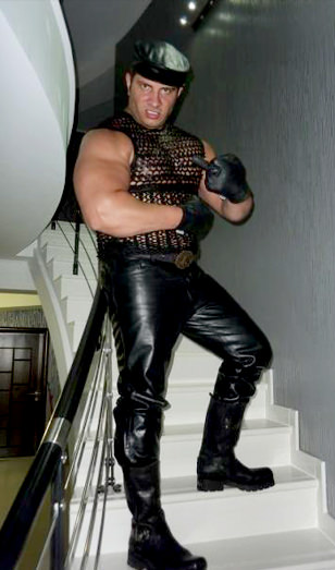 Asian Gay Leather Master 45