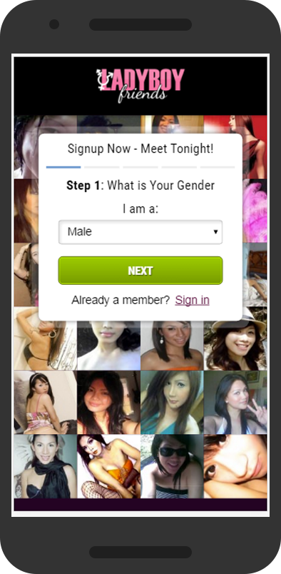 Dating app shemales